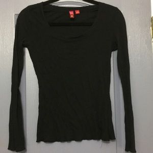 💜 Sonoma round neck long sleeve top. L